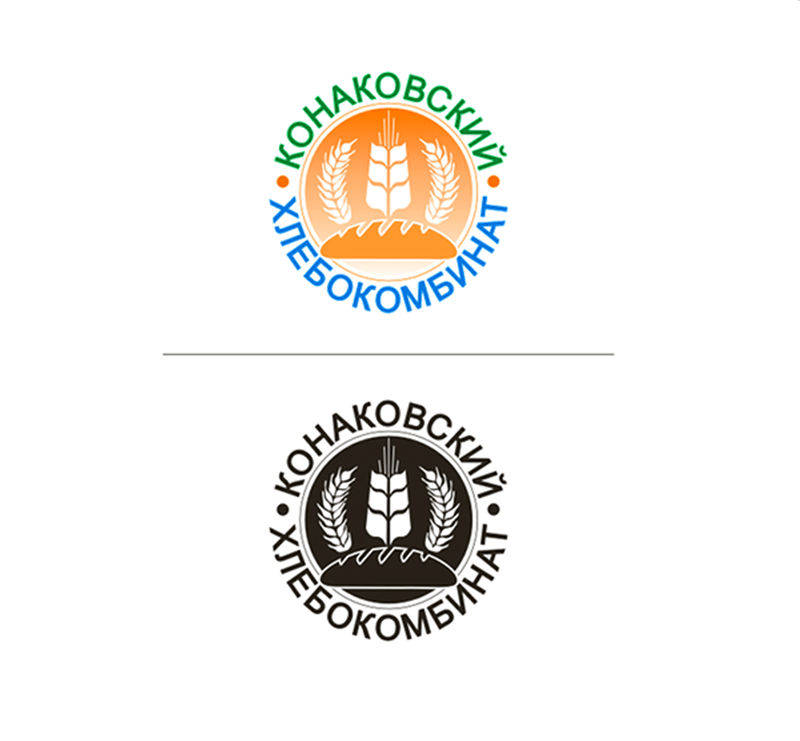 Creation of a logo of a bread-baking complex