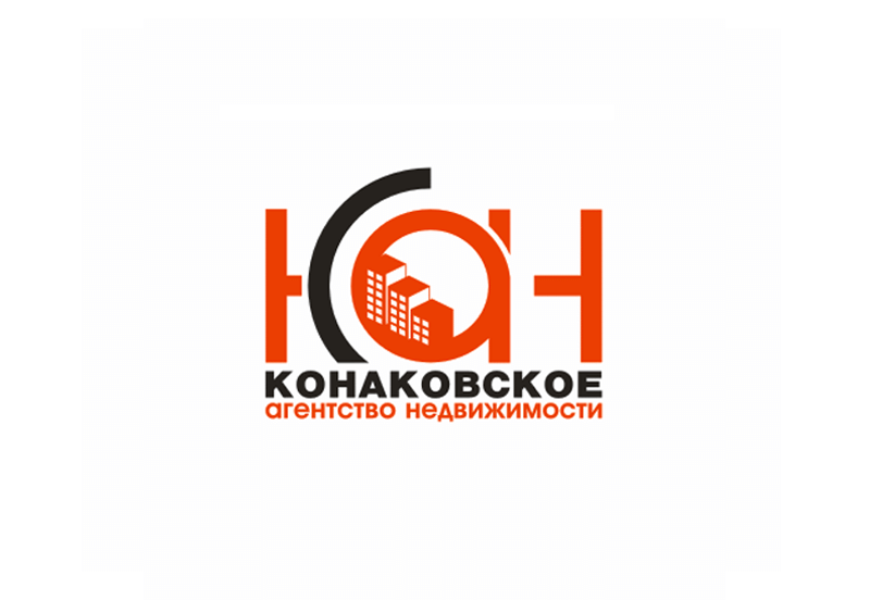 Creation of a logo of real estate agency