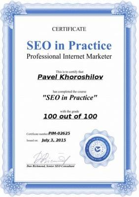 SEO in Practic (100 out of 100)